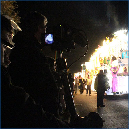Filming of West Country Carnivals
